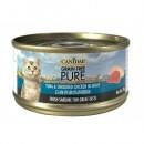 *原箱優惠*Canidae無穀物全貓主食罐頭-白身吞拿魚與雞絲70g x24