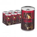 *原箱優惠*AATU 90/10/0 無穀物安格斯牛肉全配方罐頭400g x6