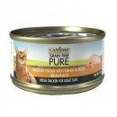 *原箱優惠*Canidae無穀物全貓主食罐頭-雞絲與南瓜70g x24