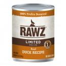 *原箱優惠*RAWZ全犬罐頭-無穀物單一蛋白鴨肉配方354g x12