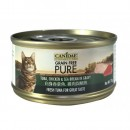 *原箱優惠*Canidae無穀物全貓主食罐頭-白身吞拿魚,雞肉與鯛魚70g x24