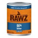 *原箱優惠*RAWZ全犬罐頭-無穀物96%三文魚配方354g x12