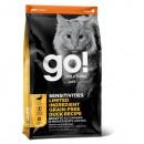 GO! SOLUTIONS™低敏美毛系列-鴨肉貓糧配方3lb