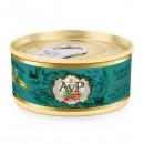 英國AVP鮮肉無穀主食貓罐-三文魚海鱸魚85g(綠)