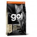 GO! SOLUTIONS™護膚美毛系列-無穀物羊肉+豬肉貓糧配方8lb