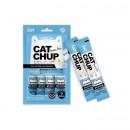 Cat Chup貓貓無穀物糊狀營養小食-去毛球配方(吞拿魚)13g x4
