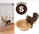 Richell寵物用固定式飲水盤(小) 粉紅