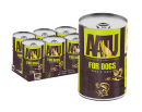 *原箱優惠*AATU 90/10/0 無穀物鴨肉火雞全配方罐頭400g x6