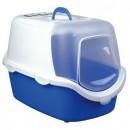 Trixie Vico Easy Clean藍白易清潔有蓋貓盤40x40x56cm